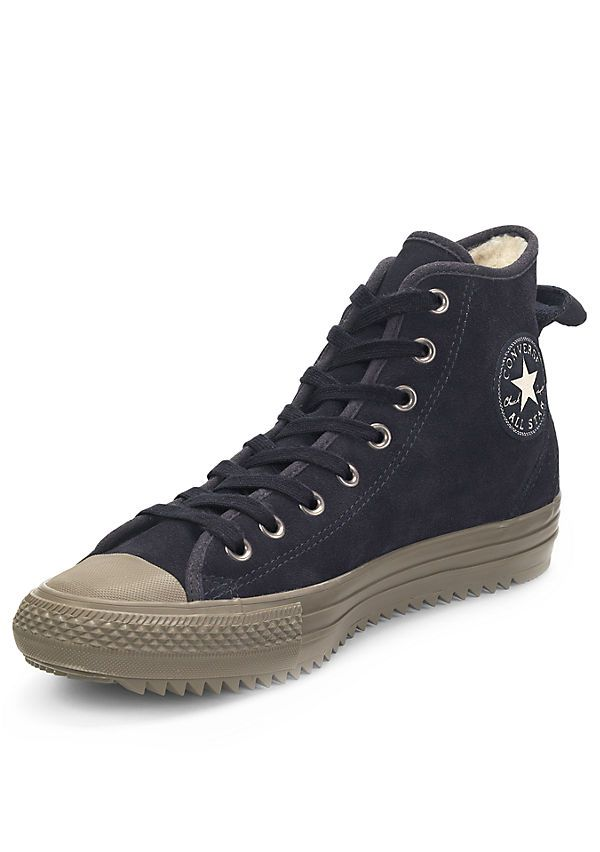 cdac046a7402a9 ... Converse Chuck Taylor All Star Hollis Suede and Shearling Lining Hi ...