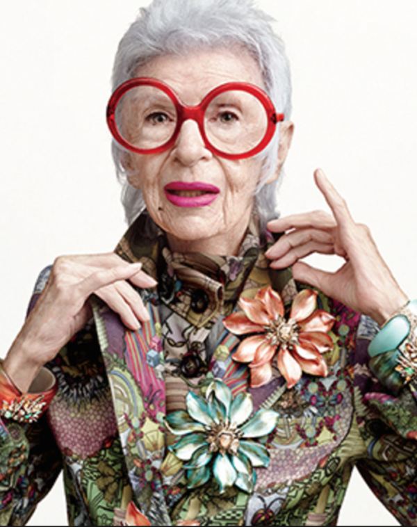 "More fashion inspiration from around the web this week for Fashion Friday. Happy Aging with Attitude all you stylistas!   I may have told you this story but I had a very hard time acknowledging the fact that I needed glasses.  I had been using ""cheaters"" – reading glasses that I purchased at my local pharmacy […]"