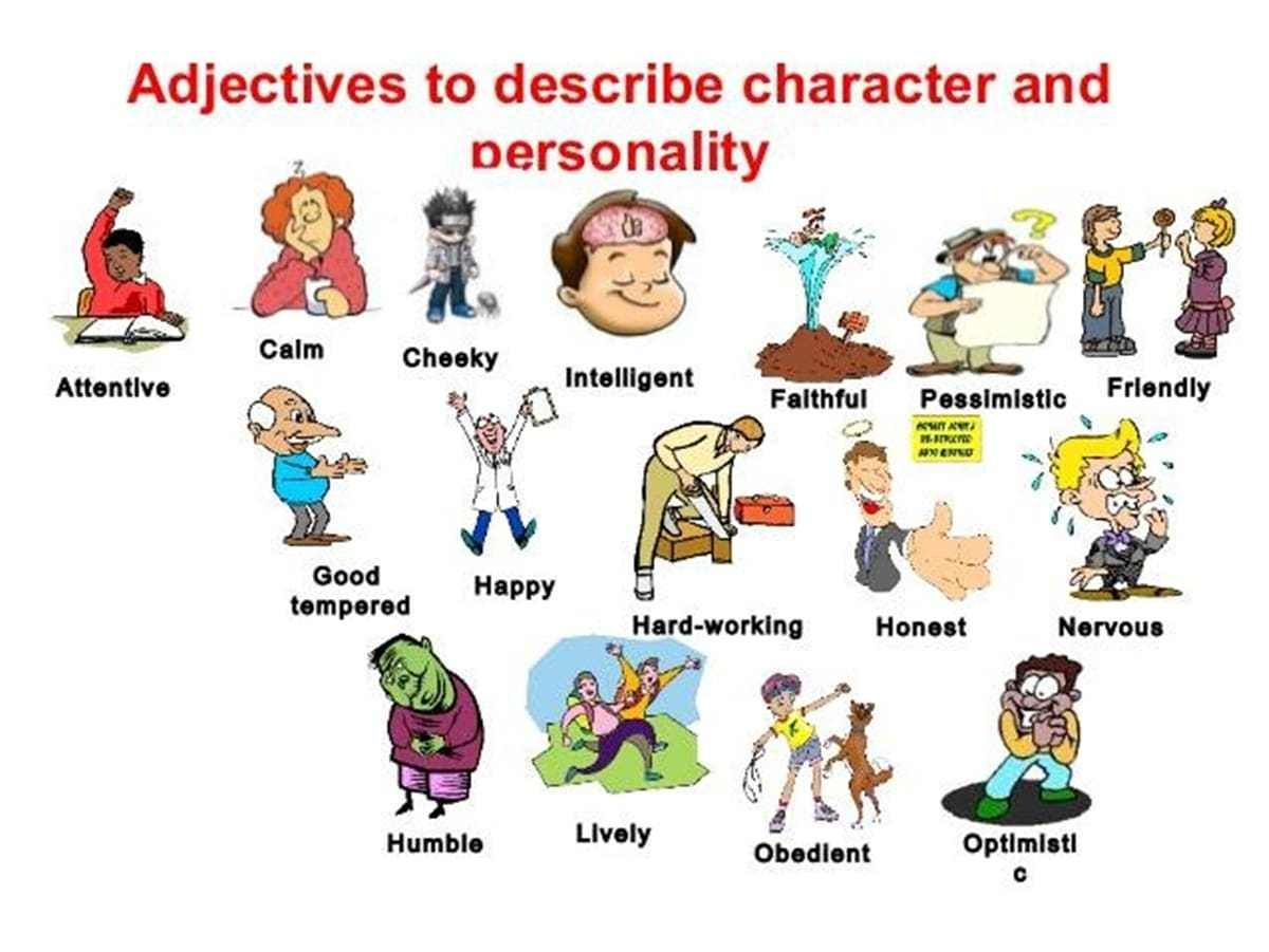Image Result For Esl Descriptions Of People S