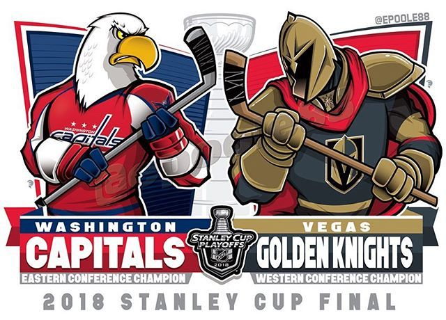 After a few days of build-up, the Stanley Cup Final begins tonight in #lasvegas @capitals from the East vs. the @vegasgoldenknights from…