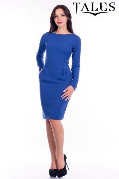 5ecab325467 Офисное платье West Синий в интернет магазине Sosiska  сукня  платьякиев   платьяхарькв  платьяодесса