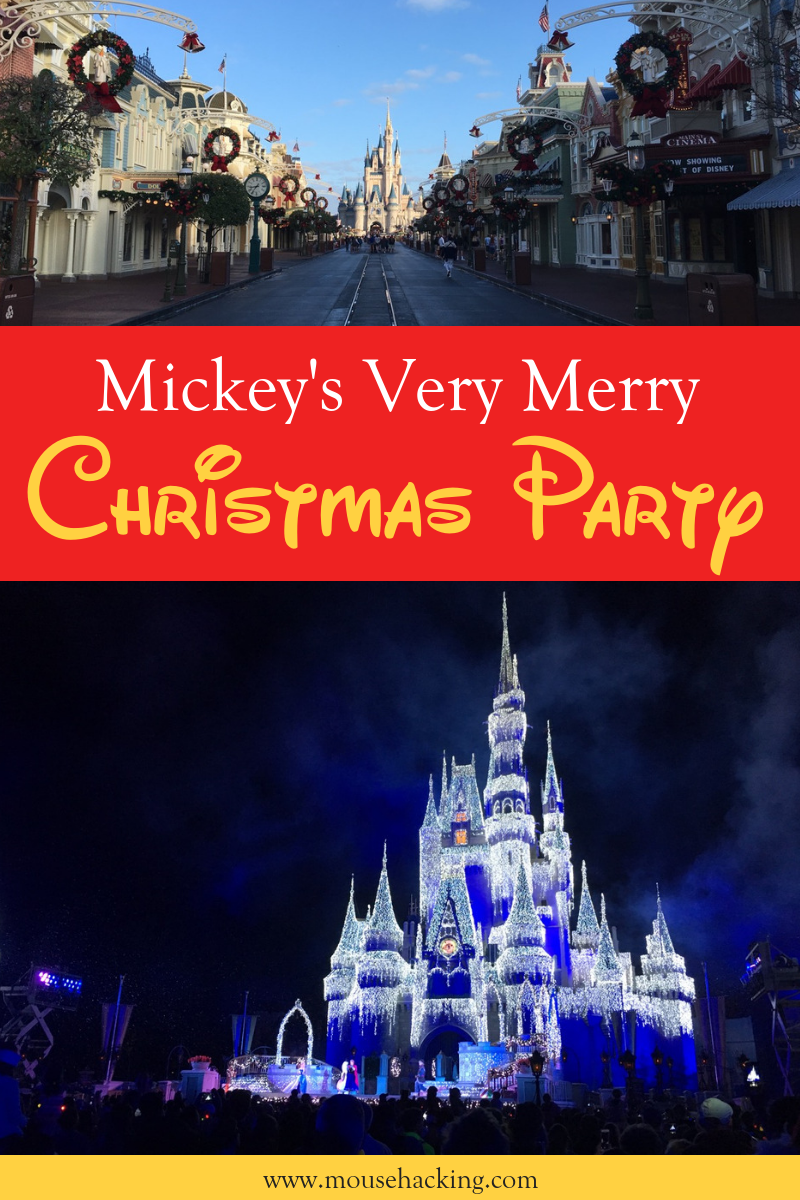 2020 Mickey S Very Merry Christmas Party Guide Mouse Hacking Disney World Tips And Tricks Discount Disney World Tickets Disney World Tickets