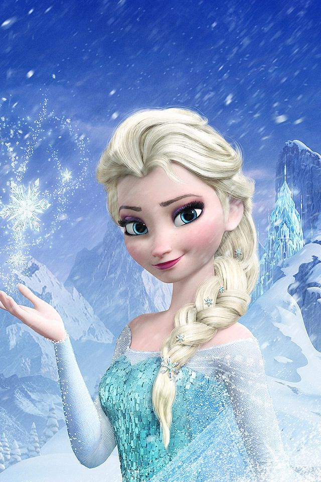 Freeios7 Elsa Frozen Queen Parallax Hd Iphone Ipad Wallpaper