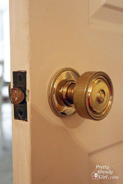How To Tighten Lever Door Handle