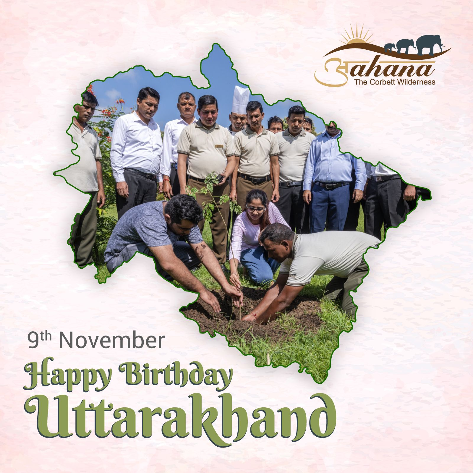 The Abode Of The Gods Uttarakhand Join Us As We Celebrateataahana The Birthday Of Our State Warm Wishes From The F Project Tiger Uttarakhand Jim Corbett