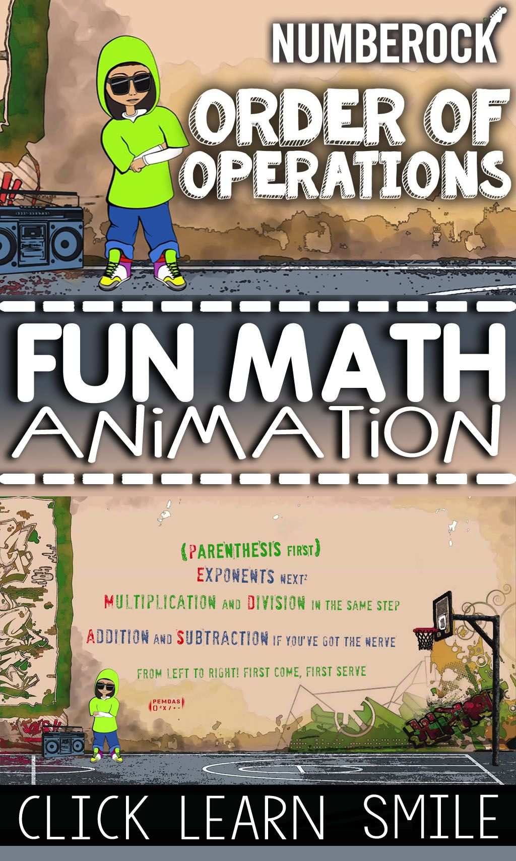 Order Of Operations Activities Pemdas Video Game Poster