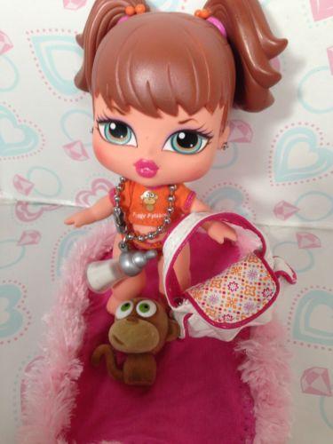 Bratz Doll Babyz Meygan Original Clothes Beautiful Monkey Accessories
