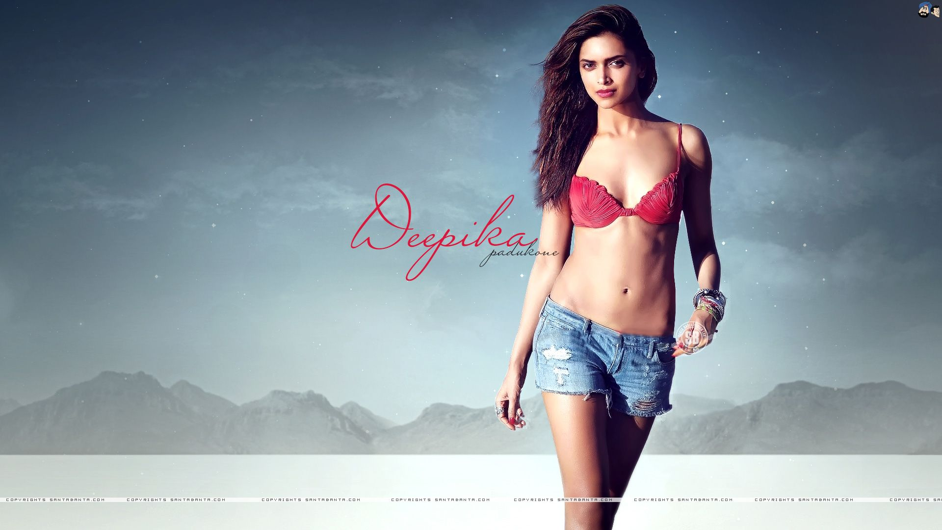 deepika padukone hot in red bikini top to see her nude pics