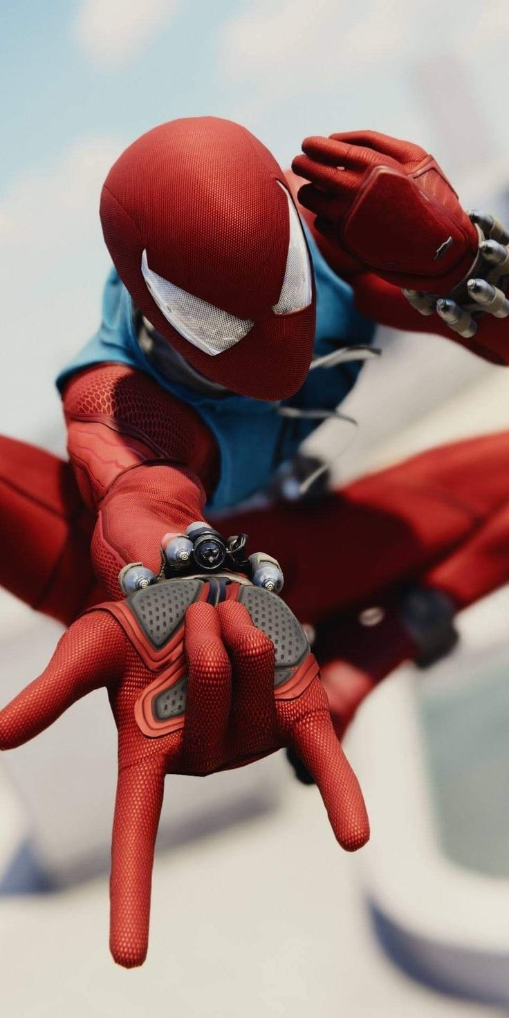 Download Spiderman Hd Wallpapers For Android Ios In July 2019 Trainerstechs Scarlet Spider Spiderman Amazing Spiderman