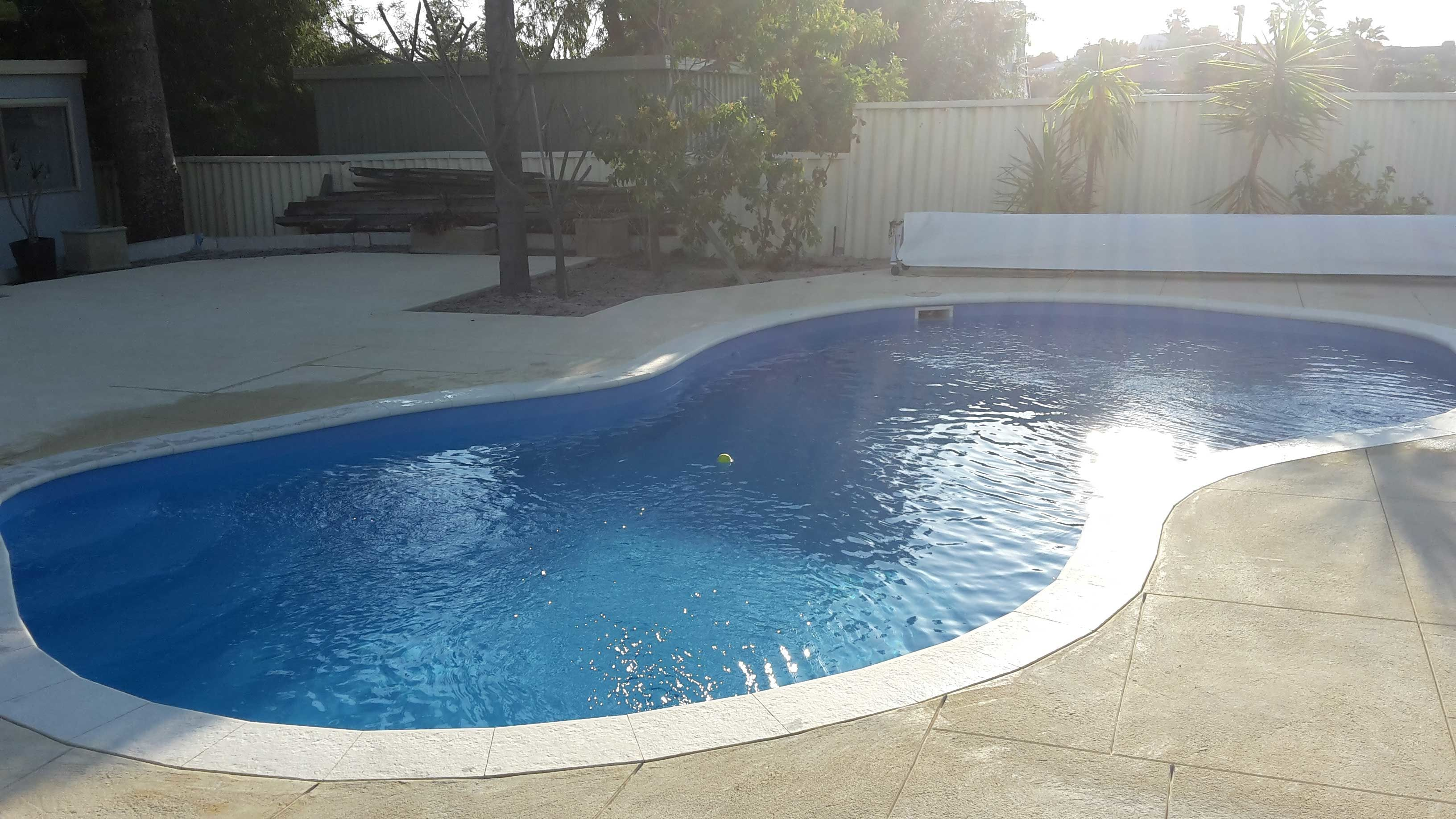 Contact Us At Innovation Pool Resurfacing Perth If You Wish To Get A Resurfacing Process Done For Your Old And Wor Backyard Fences Front Yard Fence Easy Fence
