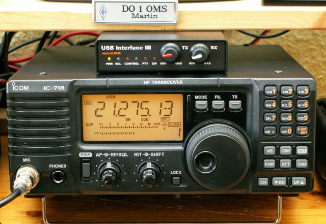 Icom IC-718 HF-Transceiver | Radio | Ham radio, Communication