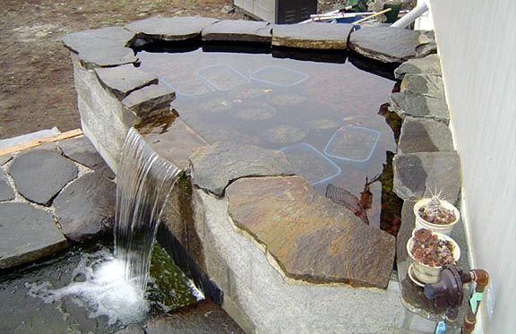 Anyone Make A Waterfall Spillway Diy Pond Waterfall Diy Pond Diy Waterfall