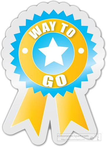 good job ribbon clip art way to go motivational award rh pinterest com good job animated clip art good job clipart free