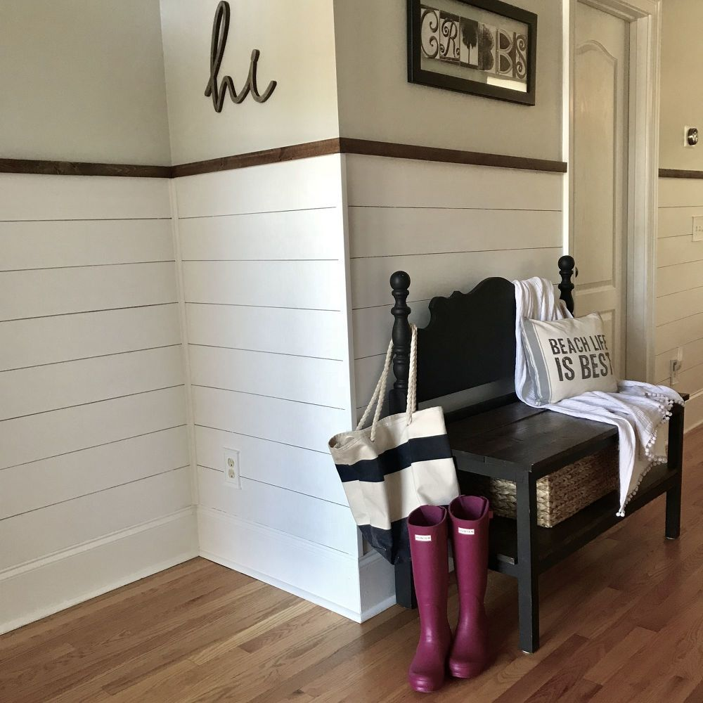 How To Shiplap Board And Batten Wall Diy Shiplap Boards Shiplap Accent Wall Diy Shiplap Fireplace
