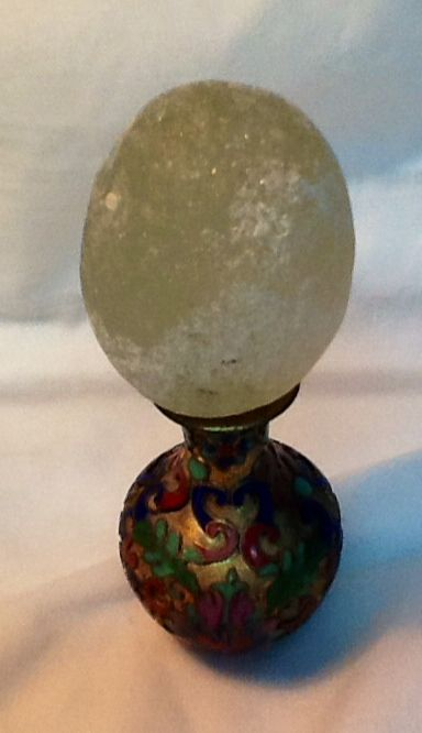 My collection do English sea glass....2 1/2 inches in diameter yellow egg.