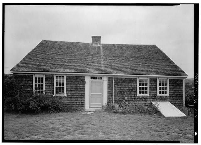 1.  VIEW FROM THE SOUTH - Lot Harding House, North Pamet Road, Truro, Barnstable County, MA