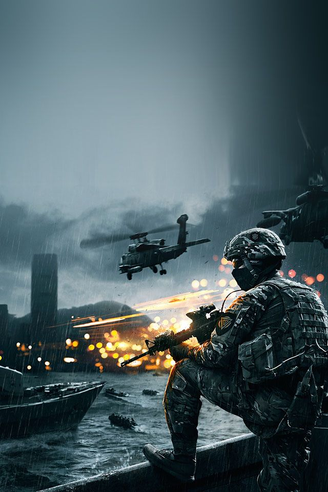 Battlefield Four Parallax Hd Iphone Ipad Wallpaper Papel De