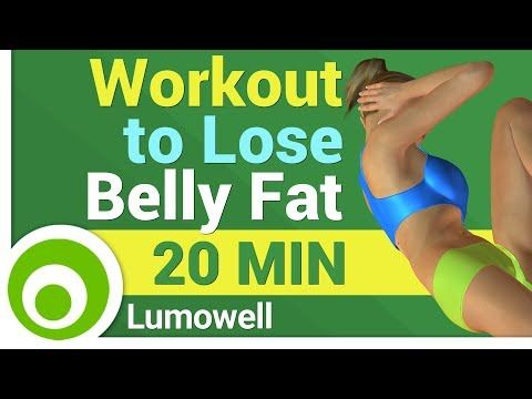 Cardio Workout to Lose Belly Fat for Women - YouTube