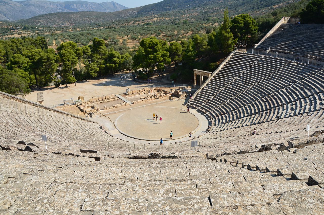A look at the history of the greek theater