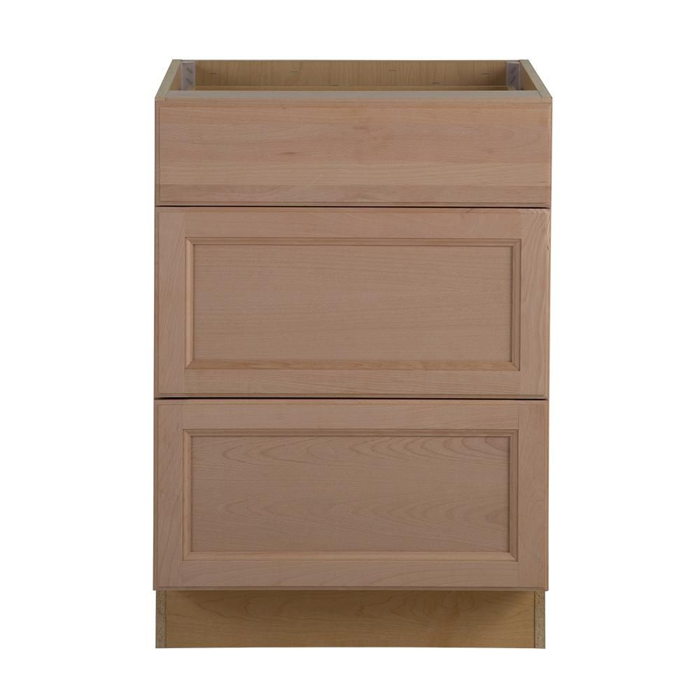 assembled 24x24 63x34 5 in  easthaven base cabinet with 3 drawers in unfinished german beech assembled 24x24 63x34 5 in  easthaven base cabinet with 3 drawers      rh   pinterest com