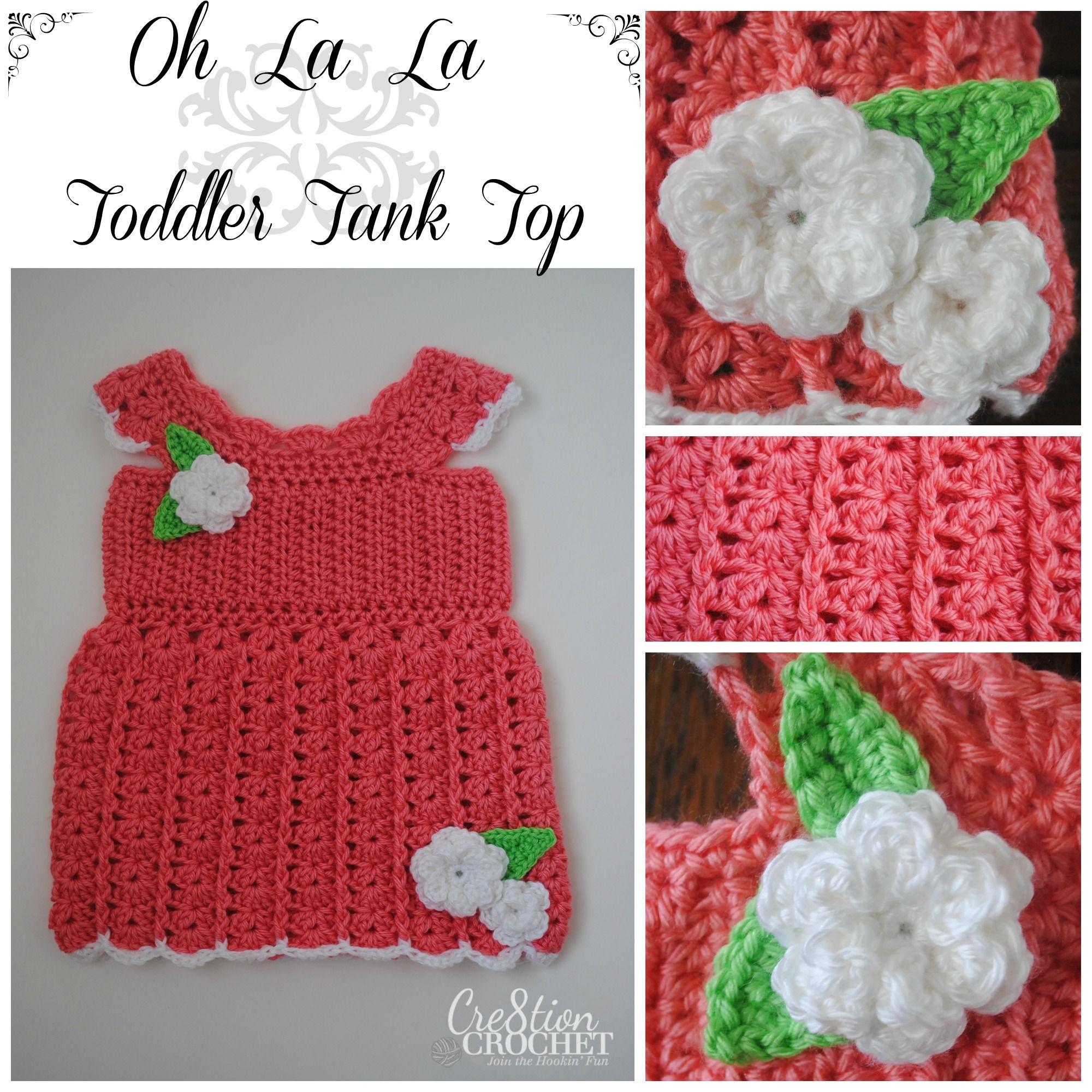 Free crochet pattern oh la la toddler tank cre8tioncrochet free crochet pattern oh la la toddler tank cre8tioncrochet bankloansurffo Gallery