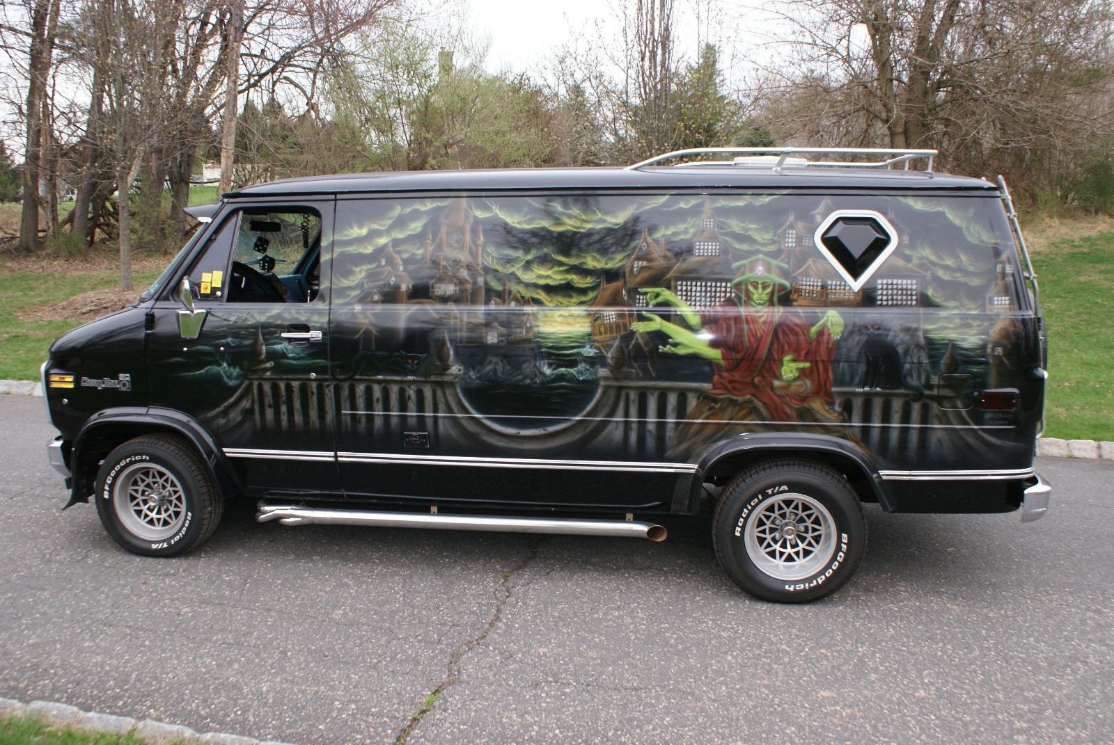 Chevrolet G20 Van Custom Custom Vans Van Chevy Van