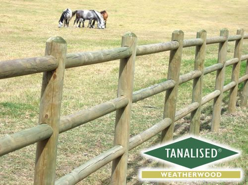 how to build a post and rail