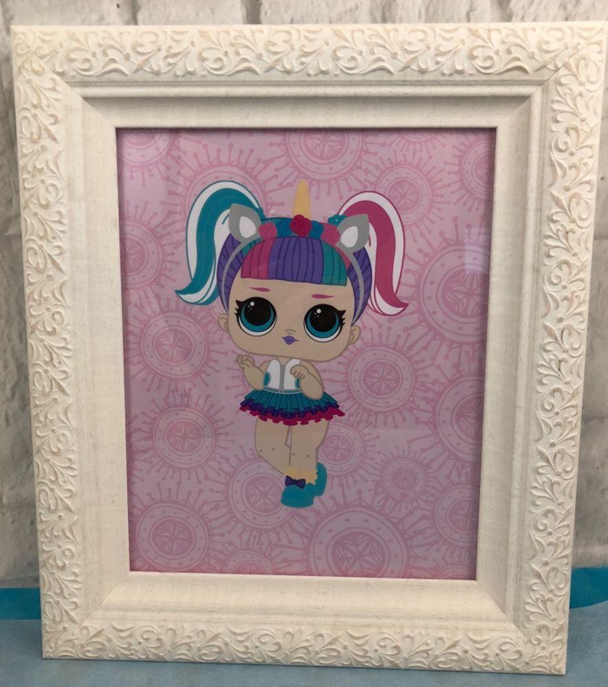 Best Lol Unicorn Surprise Doll Framed Wall Decor Bedroom 640 x 480