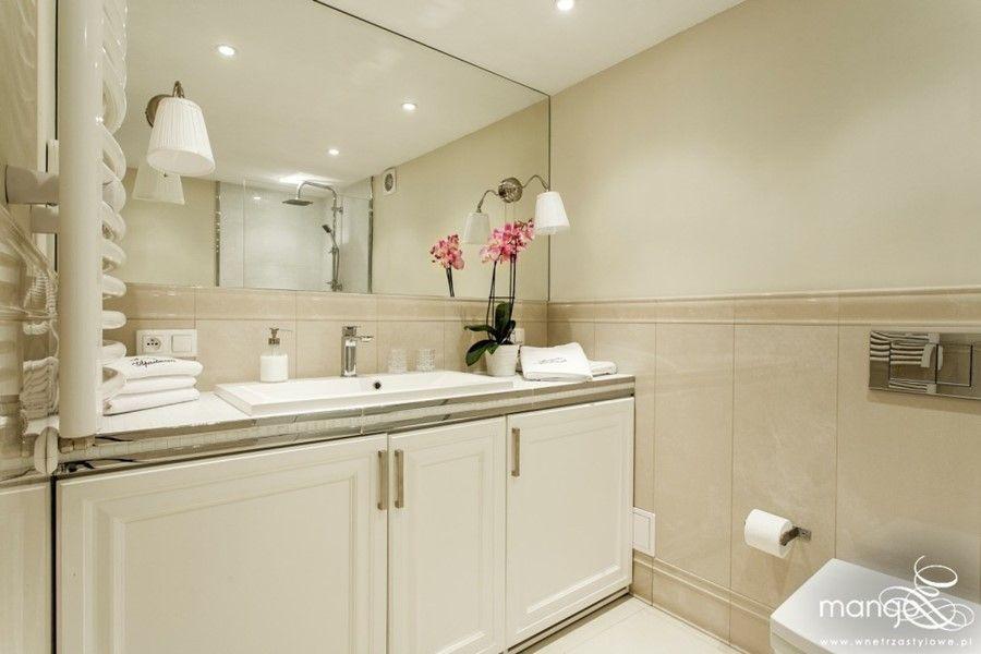 Mała łazienka W Stylu Modern Classic Architektura Wnętrza