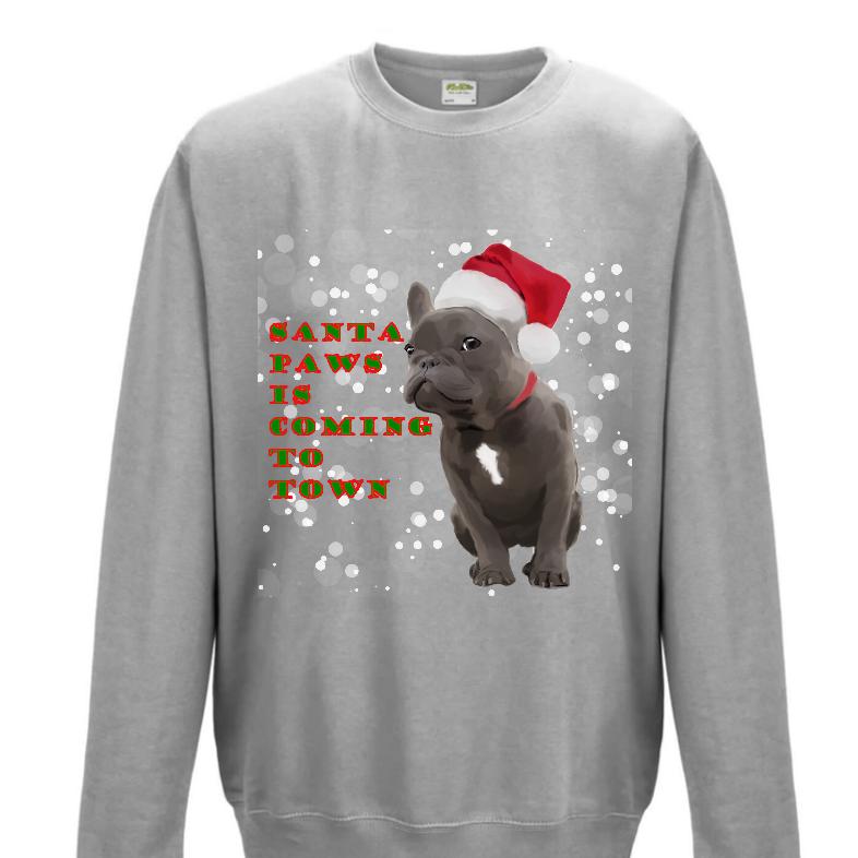 French Bulldog Christmas Jumper.French Bulldog Christmas Jumper Sweatshirt Bc 2018