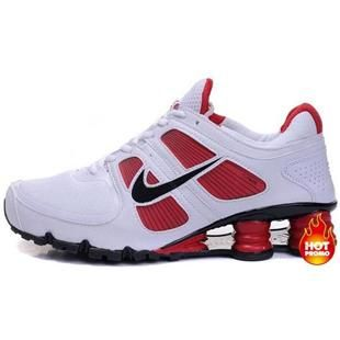 premium selection 9ca71 bb98f http   www.asneakers4u.com  Mens Nike Shox Turbo 11 White Black Red