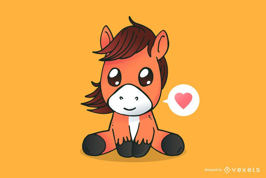 Cute Horse Cartoon Ad Spon Ad Cartoon Horse Cute Horse Cartoon Cute Horse Pictures Cute Baby Horses
