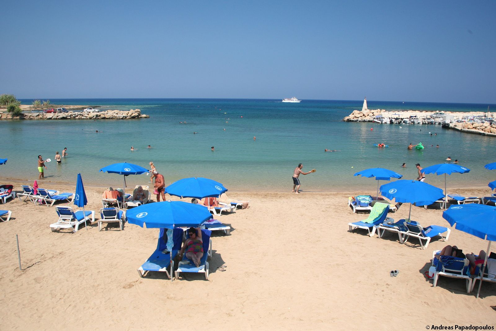 Cyprus Paralimni Agia Triada Beach