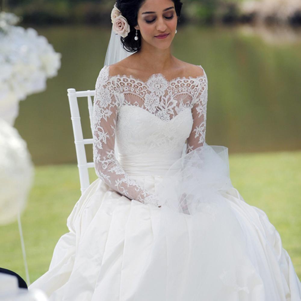 Taffeta Wedding Dresses Princess Gowns Elegant