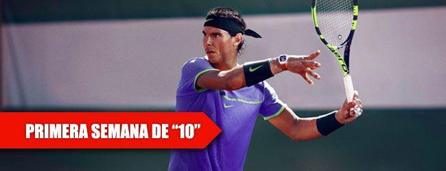 Con 31 Anos De Edad Y 16 Como Tenista Profesional Rafael Nadal Ahora Va Por La Cereza Del Pastel Su Decimo Roland Garros Torneo De Tenis Rafael Nadal Tenista