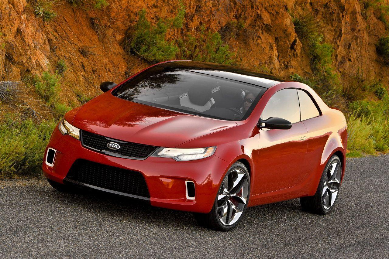 Kia coupe concept