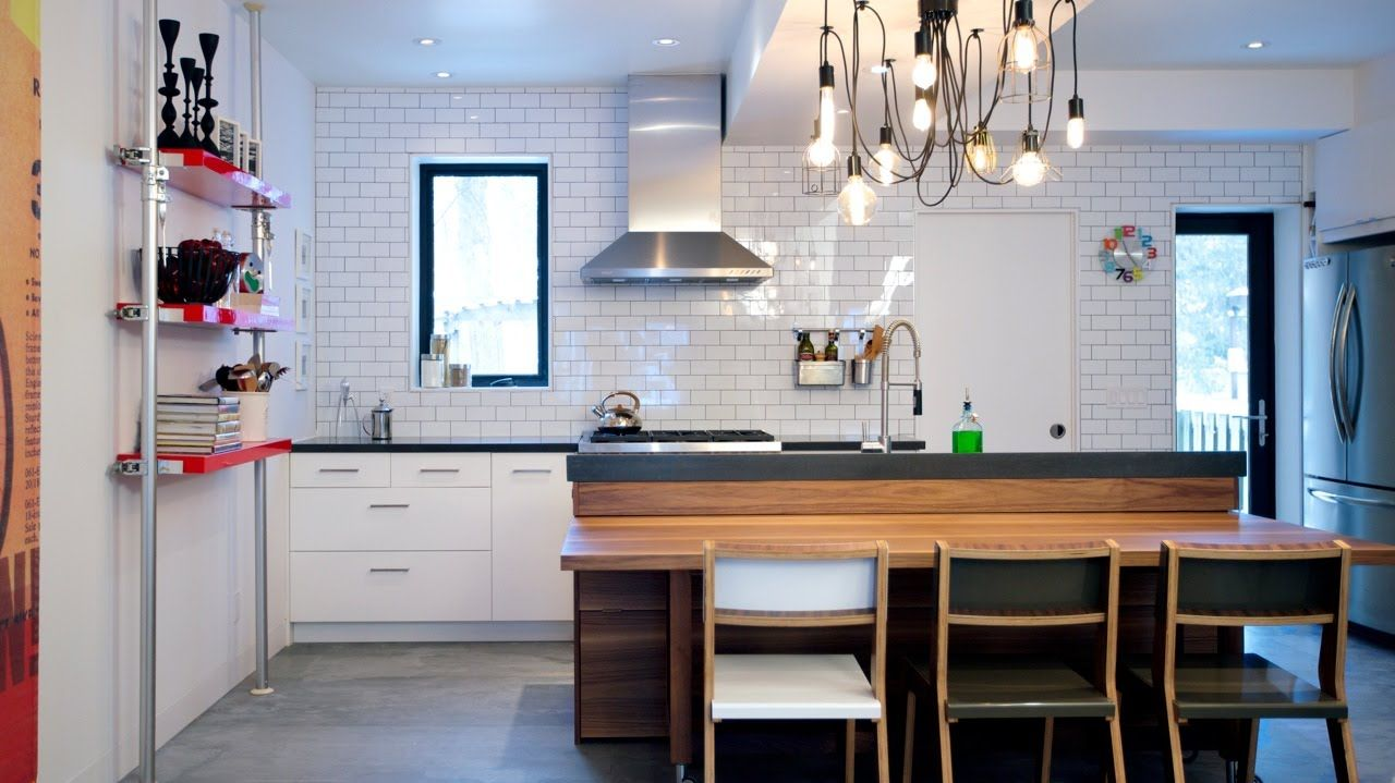 Interior Design U2014 Before U0026 After: Small Kitchen U0026 Bathroom Makeover