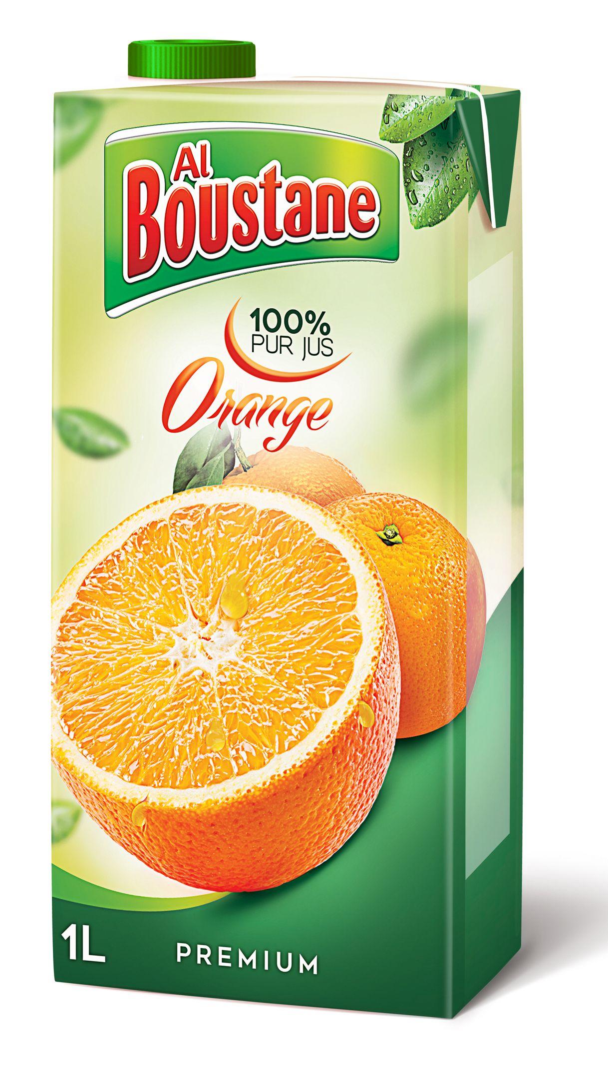 Conception Du Design Packaging Jus Dorange Al Boustane