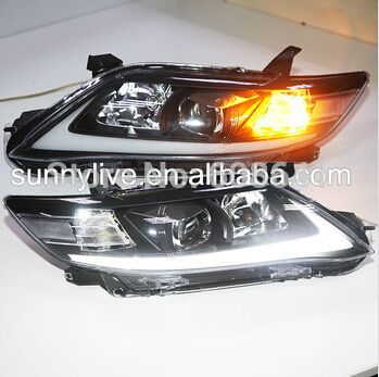 For Camry North American Version2010 2011 Led Headlight Camry Projector Lens Toyota