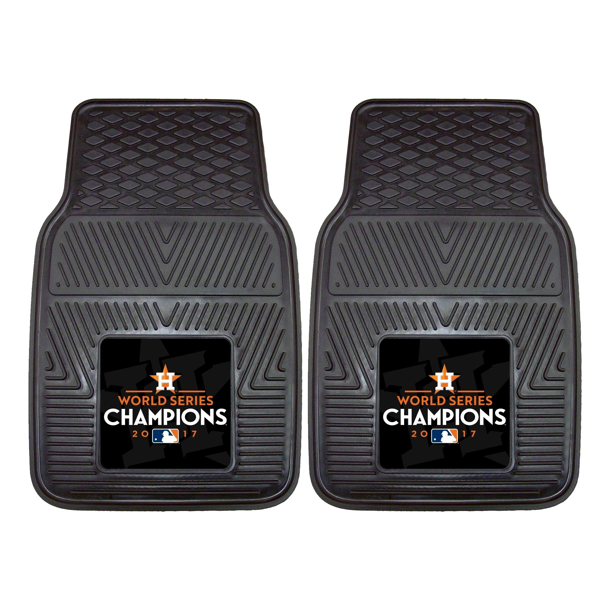 Houston Astros Fan Mats World Series Champions 2pc Heavy