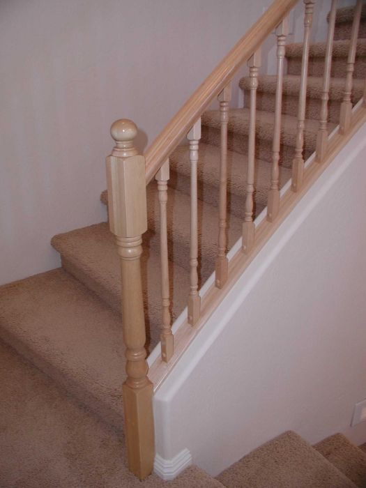 Superb Traditional Small: Stair Rail, Wood Stairs, Stair Railings, Stair .