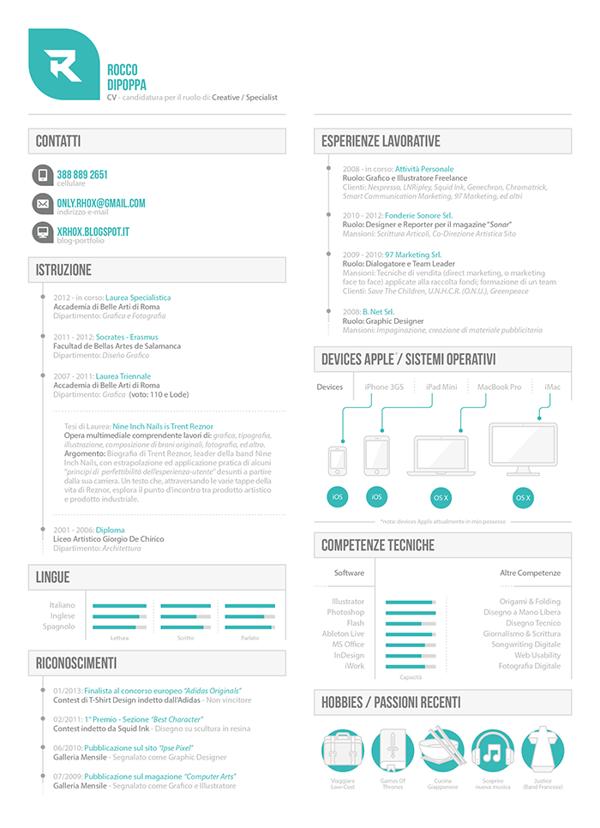 CV Apple Store by Rhox , via Behance | ULTIMATE Resume | Design ...