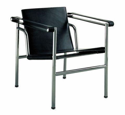 Le corbusier basculant sling chair lc1 best le - Chaise lc1 le corbusier ...