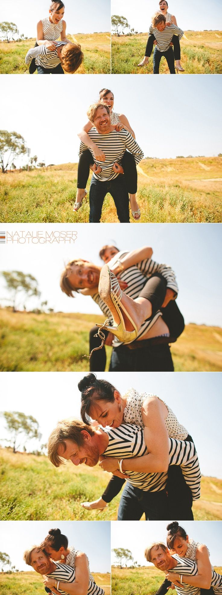 Fun couple photography set by Natalie Moser