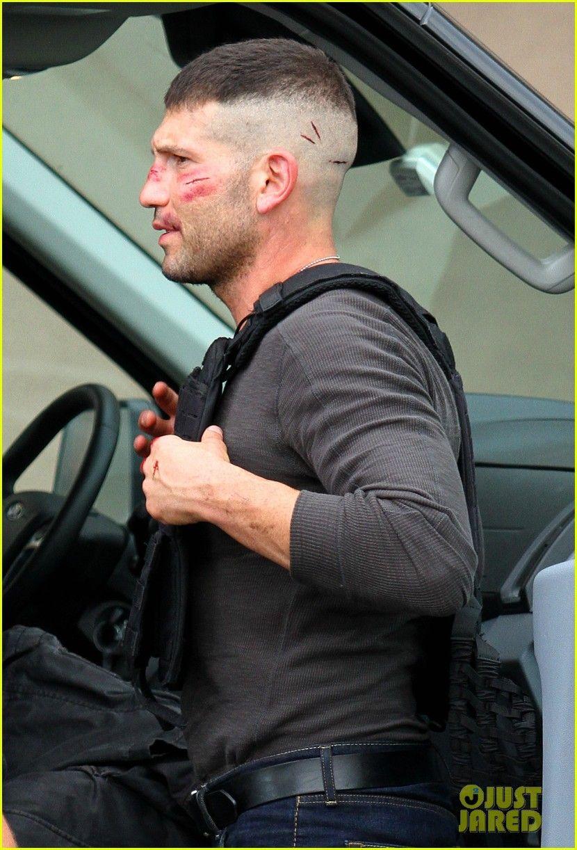 Jon Bernthal Beaten Bruised In New Daredevil Set Photos Cortr De Cabelo Masculino Cabelo Masculino Cabelos Raspados Masculino