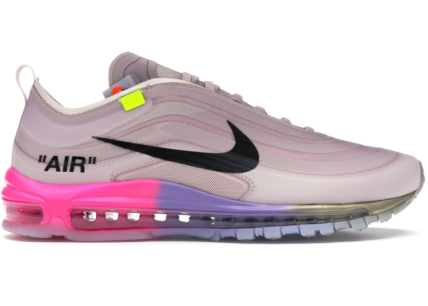 Check out the Air Max 97 Off-White Elemental Rose Serena