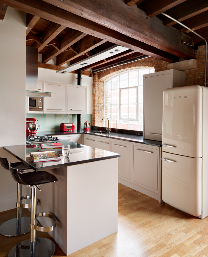 harvey jones linear kitchen, handpainted in dulux 'rum caramel 4 ... - Cucine Caramel
