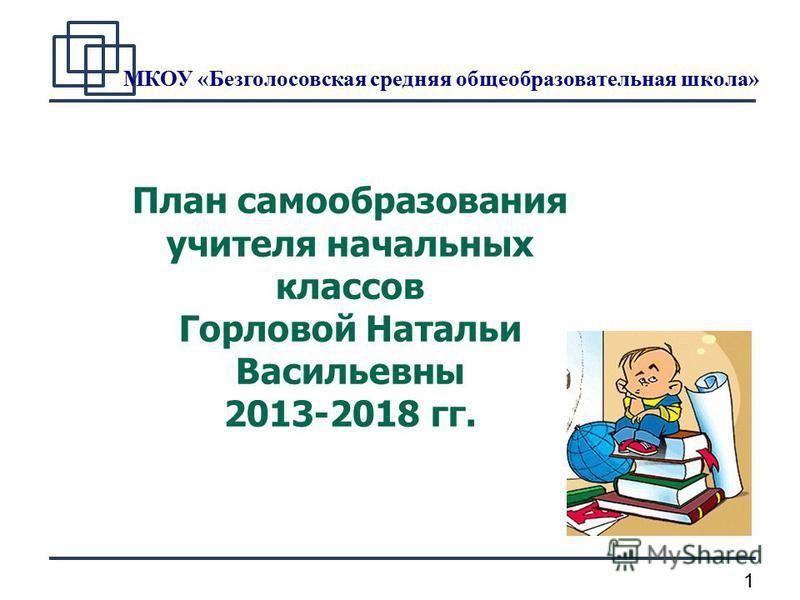 Скачать материал самообразование учителя начальных классов