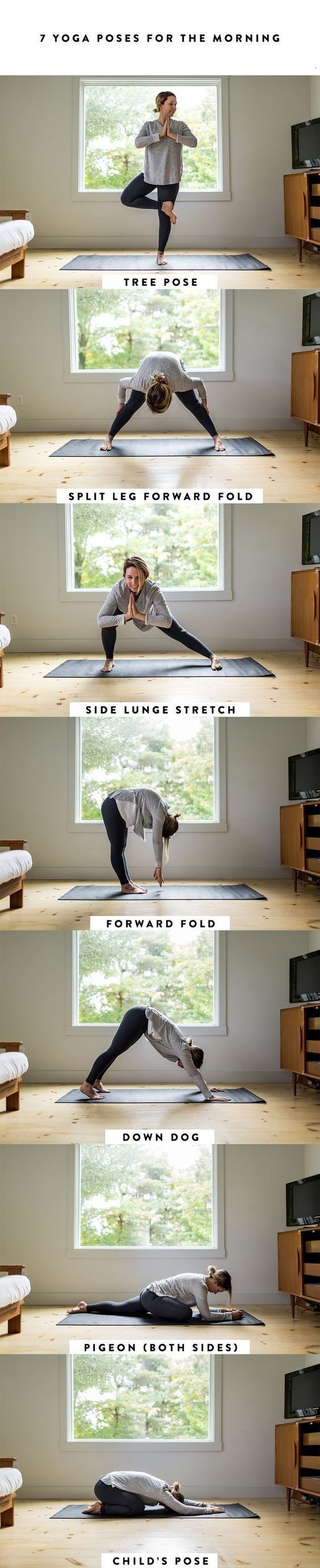 A Simple Morning Yoga Routine, morning yoga routine for