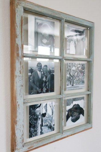 Rustic Picture Window Frame Diy Window Frame Rustic Window Frame Window Frame Picture